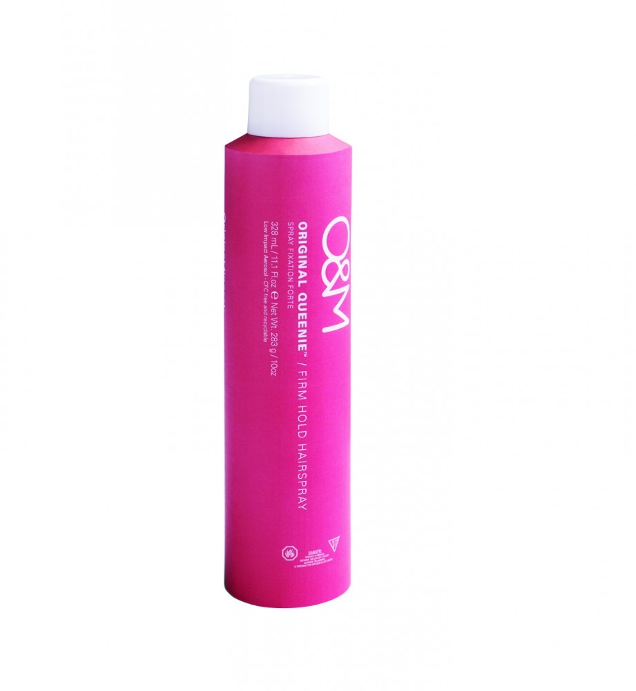 O&M - Original Queenie, Firm Hold Hairspray - Erős Tartású Hajlakk, 328ml
