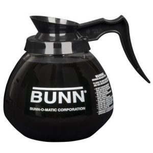 BUNN Üveg Kiöntő (Fekete), 1,9L, 1db
