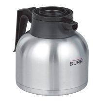 Bunn - Thermal Carafe,sst, (black) - Fém Hőtárolós Kiöntő (Fekete), 1,9L, 1db