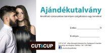 CUT & CUP Ajándékutalvány