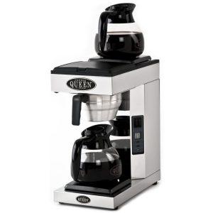 COFFEE QUEEN Filteres Kávéfőző2, A2, + 2db 1,8L Üveg Kiöntő (Fekete) - megrendelésre