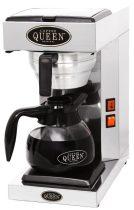 COFFEE QUEEN Filteres Kávéfőző1, M1 + 1,8L Üveg Kiöntő (Fekete)