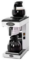 COFFEE QUEEN Filteres Kávéfőző2, M2 + 2db 1,8L Üveg Kiöntő (Fekete) - megrendelésre
