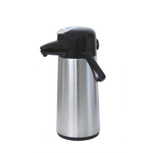 COFFEE QUEEN Fém Termosz, 2,2L - megrendelésre