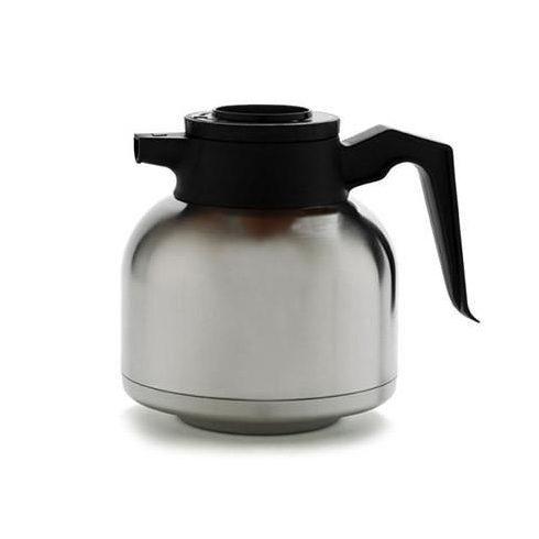 COFFEE QUEEN Fém Hőtárolós Kiöntő (Fekete), 1,9L - megrendelésre