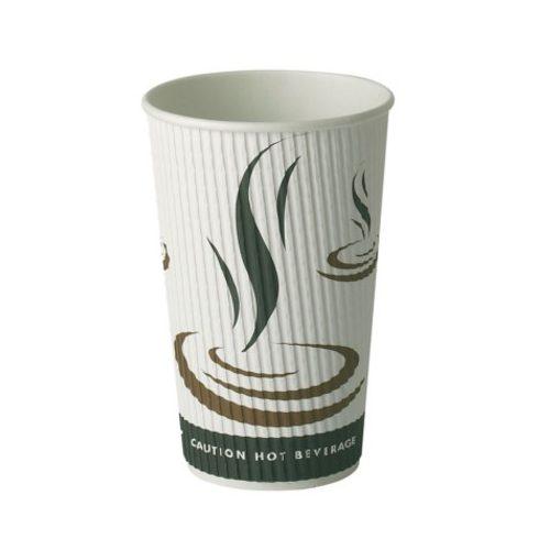 EDLW Eldobható, Hármasfalú, Papír Kávéspohár, 450ml, 100db