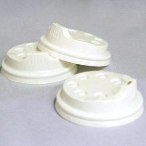 EDLW Műanyag Tető, 340/450ml-es Kávéspohárhoz, 100db