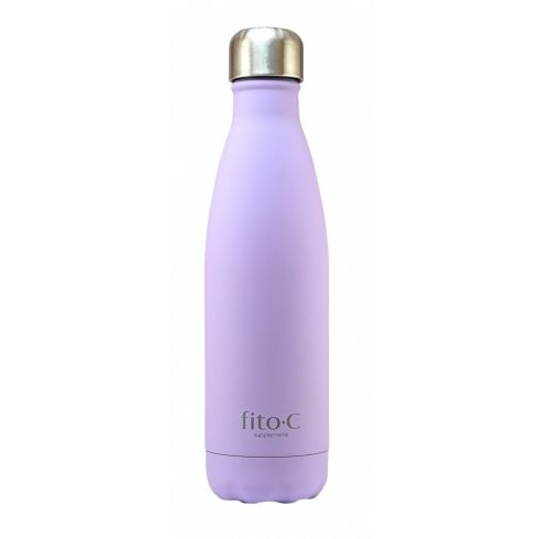fito.C - Purple Mat Velvet Thermos Bottle - Lila Mattbársony Termosz Palack, 500ml