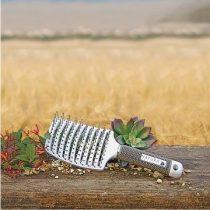 Natura Keratin - Vent Brush - Ventilációs, Ívelt Laposkefe, 1db