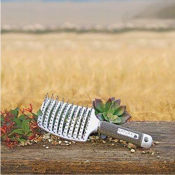 Natura Keratin - Vent Brush - Ventilációs, Ívelt Laposkefe