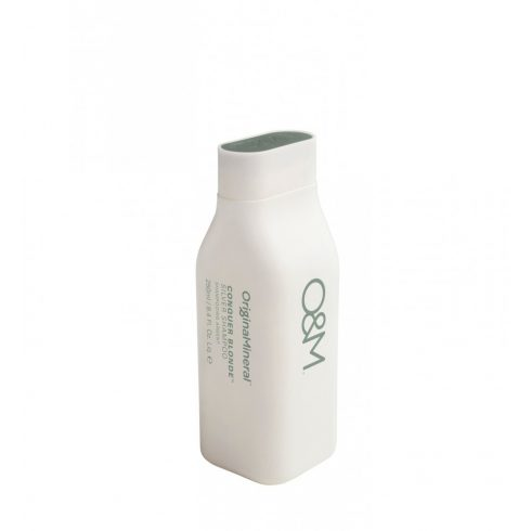 O&M - Conquer Blonde, Silver Shampoo - Hamvasító Sampon, 250ml