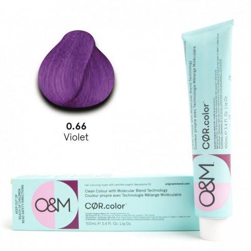 O&M - Cor.color - Pure Colours - Violet - Direkt Színek - Lila - 0.66, 100ml