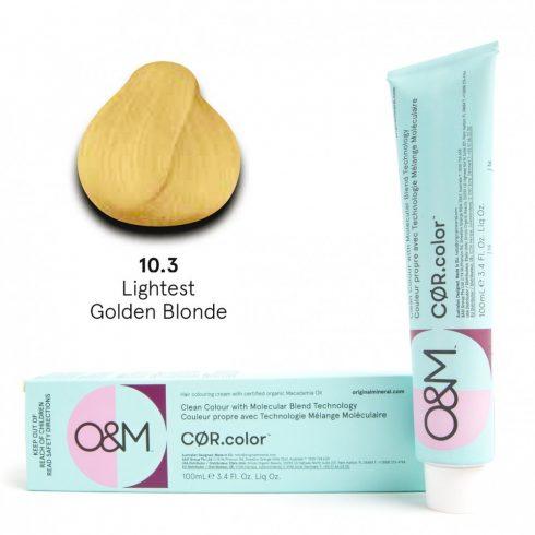 O&M - Cor.color - Gold - Arany - 10.3, 100ml