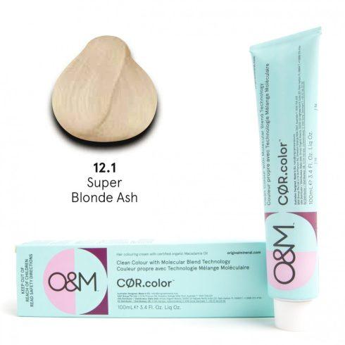 O&M - Cor.color - Super Blonde - Ash - Szuper Szőke - Hamvas - 12.1, 100ml