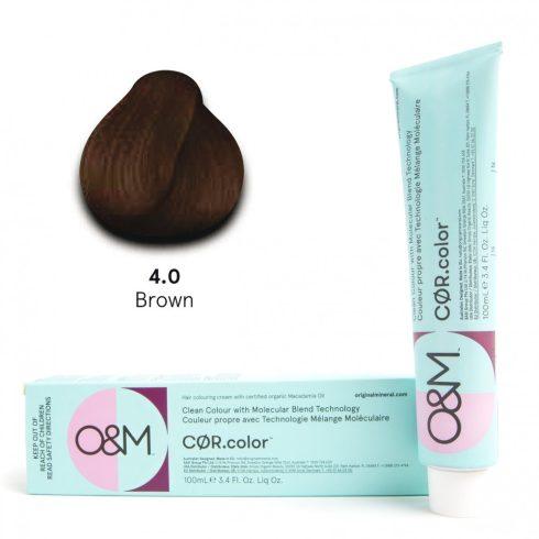 O&M - Cor.color - Naturals - Természetes - 4.0, 100ml