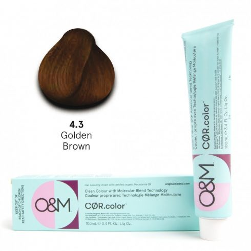 O&M - Cor.color - Gold - Arany - 4.3, 100ml