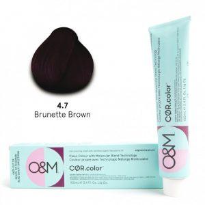 O&M - Cor.color - Brunette - Barna - 4.7, 100ml