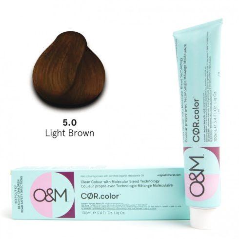 O&M - Cor.color - Naturals - Természetes - 5.0, 100ml