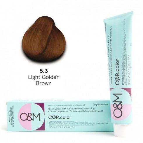 O&M - Cor.color - Gold - Arany - 5.3, 100ml