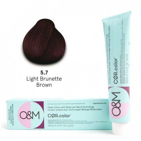 O&M - Cor.color - Brunette - Barna - 5.7, 100ml