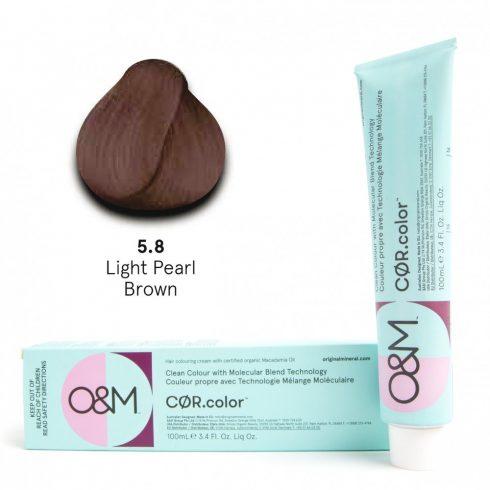 O&M - Cor.color - Pearl - Gyöngy - 5.8, 100ml