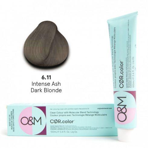 O&M - Cor.color - Intense Ash - Intenzív Hamvas - 6.11, 100ml
