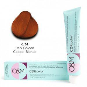 O&M - Cor.color - Golden Copper - Arany Réz - 6.34, 100ml