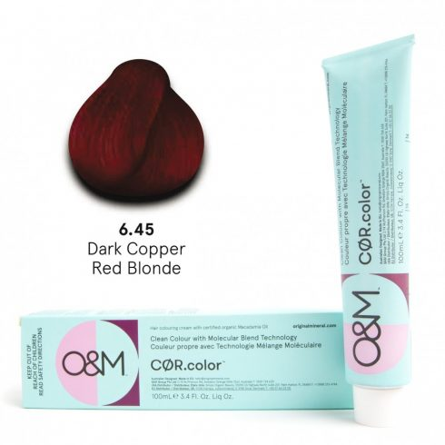 O&M - Cor.color - Red - Réz Vörös - 6.45, 100ml