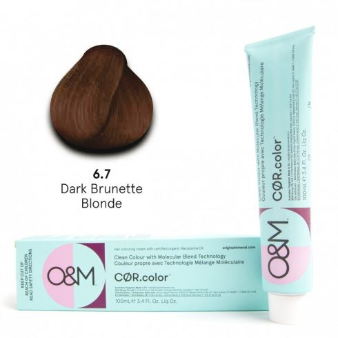 O&M - Cor.color - Brunette - Barna - 6.7, 100ml