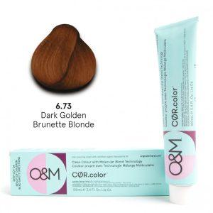 O&M - Cor.color - Gold Brunette - Arany Barna - 6.73, 100ml