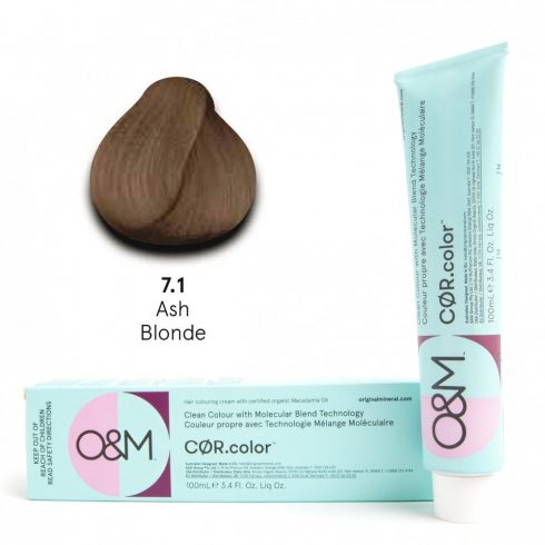 O&M - Cor.color - Ash - Hamvas - 7.1, 100ml