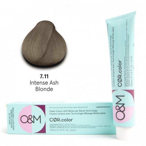 O&M - Cor.color - Intense Ash - Intenzív Hamvas - 7.11, 100ml