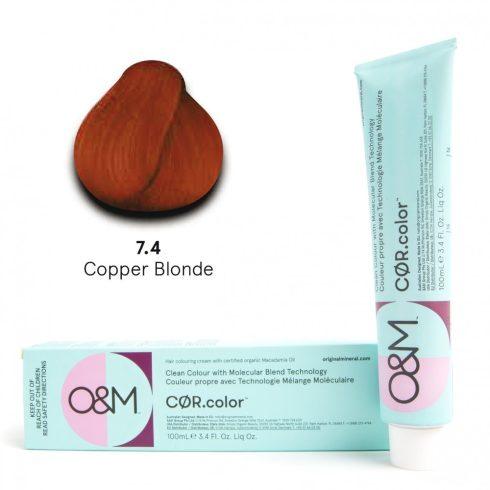 O&M - Cor.color - Copper - Réz - 7.4, 100ml