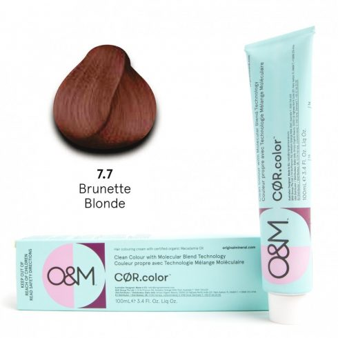 O&M - Cor.color - Brunette - Barna - 7.7, 100ml