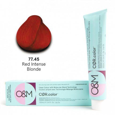 O&M - Cor.color - Red Intense - Intenzív Réz Vörös - 77.45, 100ml