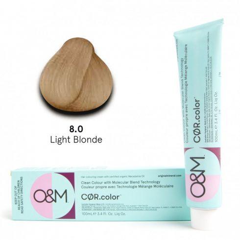 O&M - Cor.color - Naturals - Természetes - 8.0, 100ml