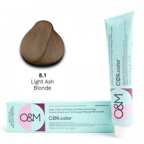 O&M - Cor.color - Ash - Hamvas - 8.1, 100ml