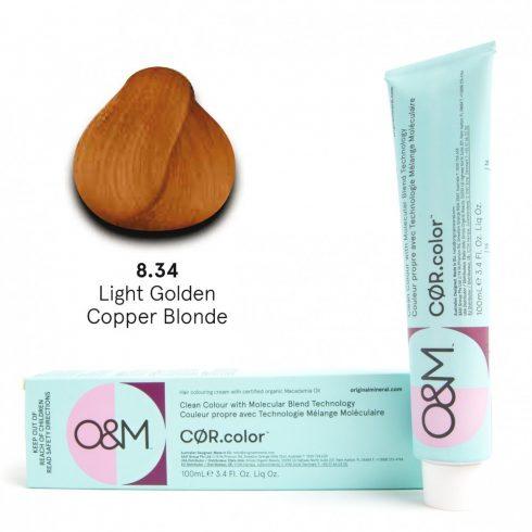 O&M - Cor.color - Golden Copper - Arany Réz - 8.34, 100ml