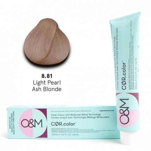 O&M - Cor.color - Pearl - Gyöngy - 8.81, 100ml
