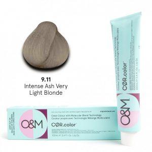 O&M - Cor.color - Intense Ash - Intenzív Hamvas - 9.11, 100ml