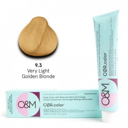 O&M - Cor.color - Gold - Arany - 9.3, 100ml