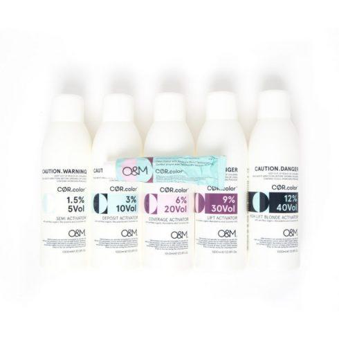 O&M - Cor.color - Activator Coverage - Oxidáns 20vol - 6%, 150ml - a terméket cégünk kiszerelésében adjuk