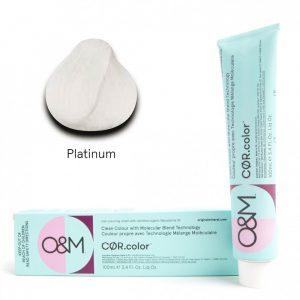 O&M - Cor.color - Pastel Platinum - Pasztel Platina, 100ml