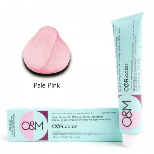 O&M - Cor.color - Pastel Pale Pink - Pasztel Sápadt Rózsaszín, 100ml