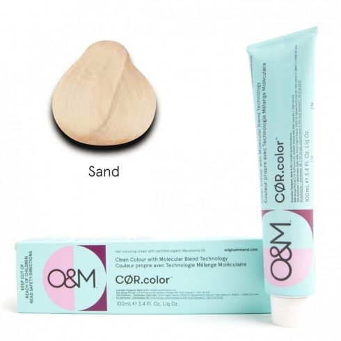 O&M - Cor.color - Pastel Sand - Pasztel Homoksárga, 100ml