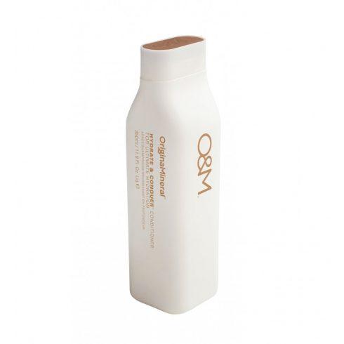 O&M - Hydrate&Conquer Conditioner, for Ultimate Hydration - Hidratáló Kondicionáló, 350ml