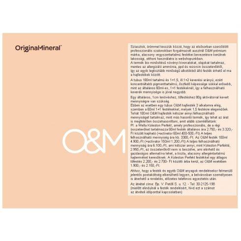 O&M - Márkatörténet