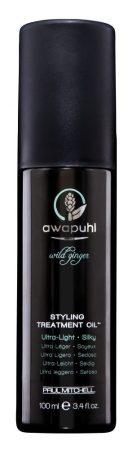 Paul Mitchell Awapuhi - Styling Treatment Oil - Awapuhi, Formázás Előtti, Ápoló Szárazolaj, 100ml