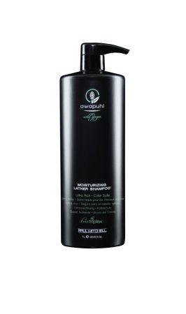 Paul Mitchell Awapuhi - Moisturizing Leather Shampoo - Awapuhi és Keratin Hidratáló Sampon, 1L