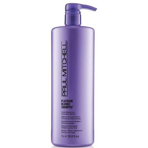 Paul Mitchell - Platinum Blonde Shampoo - Platina Hamvasító Sampon, szőke hajra, 1L